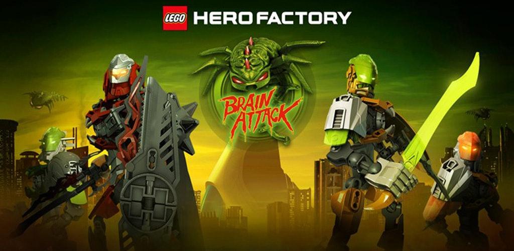 Lego Brain Attack: Hero Factory