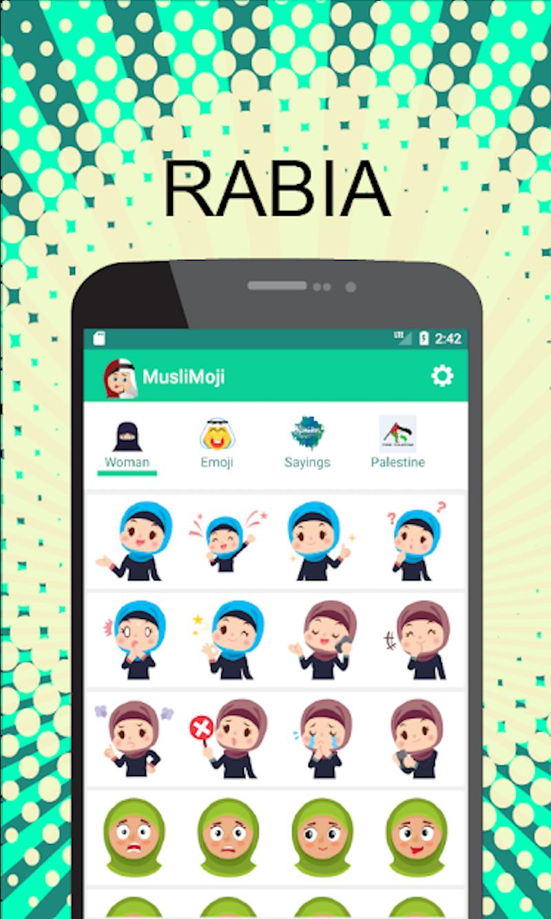 Appsmania Mexico Muslimoji Pro Muslim Islamic Emoji Hijab Stickers