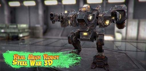 Real Mech Robot Steel War 3D - playzone