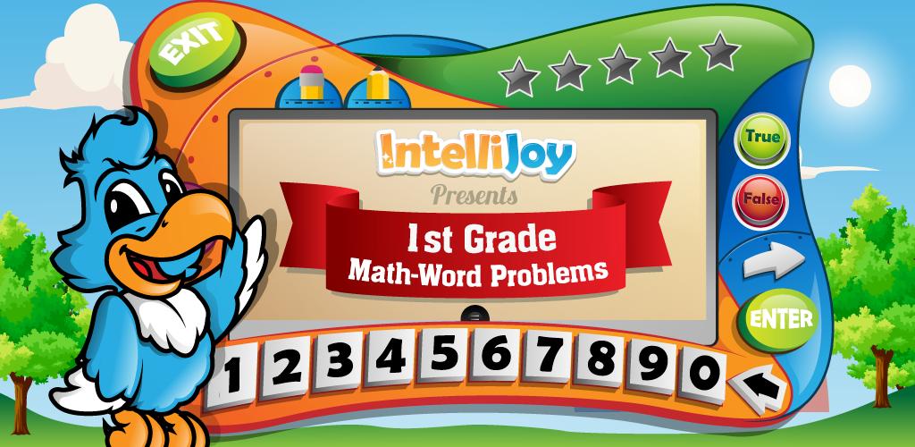 Kids First Grade Math Word Pro