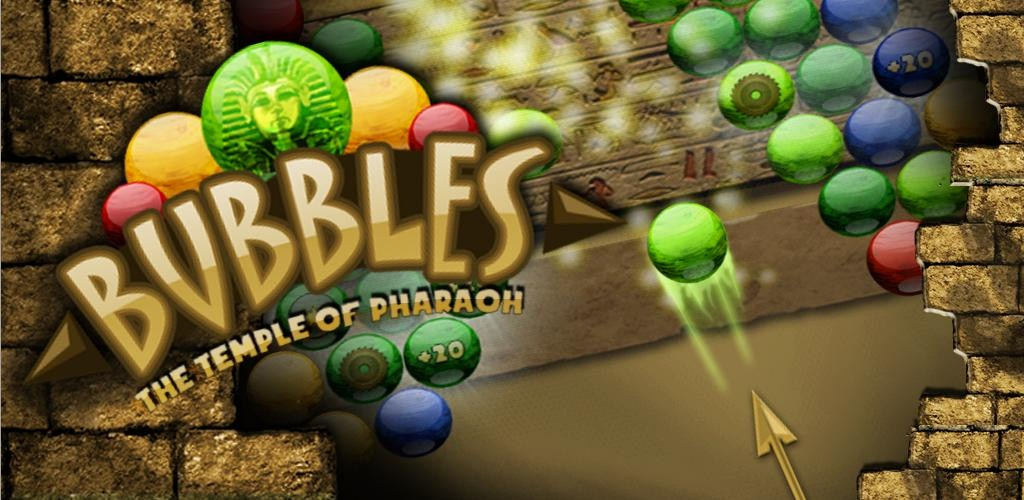 Bubbles: The Temple of Pharaoh